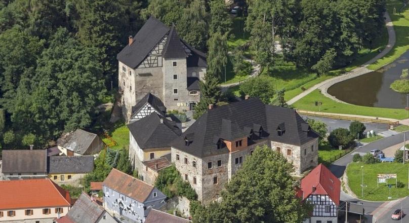ubytování Hrad Vildštejn